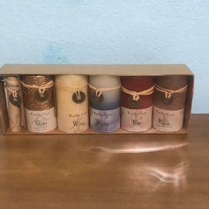 Tengo Shui candle set